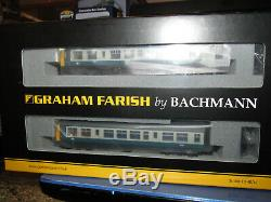 Graham Farish 371-877a Class 108 2car Dmu In Br Blue And Grey Livery (mar9211)