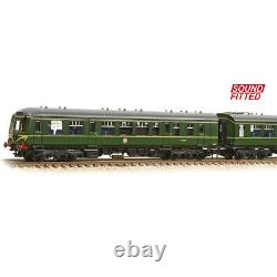 Graham Farish 371-887DS N Gauge Class 108 3Car DMU BR Green Speed Whiskers SOUND