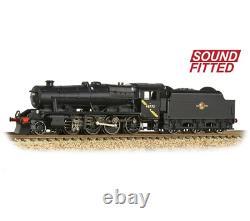 Graham Farish 372-163DS LMS Stanier 8F 48773 BR Black (Late Crest) Sound N Gauge