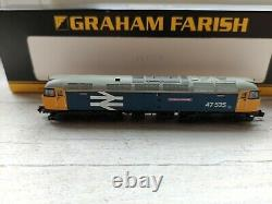 Graham Farish 372-240 Class 47 47535 University of Leicester Boxed DCC Ready