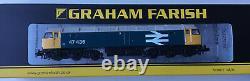 Graham Farish 372-250 Class 47/4 B. R. Blue Large Logo N Gauge New