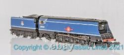 Graham Farish 372-310, N gauge, Merchant Navy Class loco, 35024 BR early blue