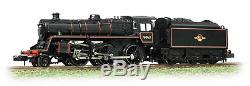 Graham Farish 372-654 BR Standard Class 4MT 76063 BR Lined Black Late Crest N