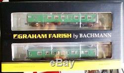 Graham Farish 372-675 4CEP 4 Car EMU, SR green no warning panels, 6DCC, NIB