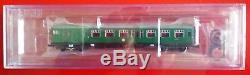 Graham Farish 372-676 4CEP 4 Car EMU, SR green with warning panels, 6DCC, NIB