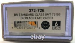 Graham Farish 372-726 BR Standard Class 5MT 73158 BR Black Late Crest (Unused)