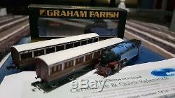 Graham Farish 372-750k Caledonian Fairburn Tank DCC Sound With Coached