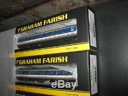 Graham Farish 374-711 x 4 N Gauge NSE Mk2A TSO Coach
