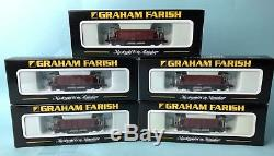 Graham Farish 377-002 40t Seacow'ews' Wagons Rake X5 Mint Boxed #462m