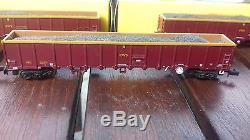 Graham Farish 377-651 MBA Megabox High-Sided Bogie Box Wagon no Buffers EWS