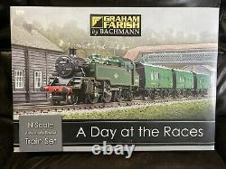 Graham Farish Bachmann 370-185 A Day At The Races N Scale Train Set Complete Box