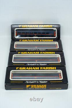 Graham Farish Bachmann N Gauge GNER DCC Class 91 Loco DVT 9 x Mk4 Rake Coaches