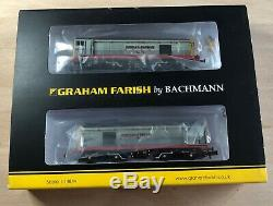 Graham Farish Class 20 twin set 371-035. Hunslet Barclay. DCC Ready