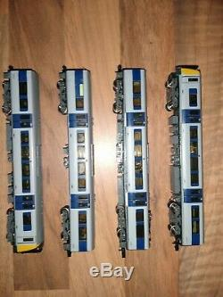 Graham Farish Class 350 Desiro EMU Apollo silver N gauge DMU model railway train