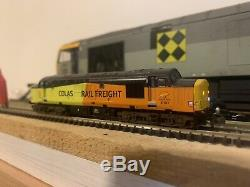 Graham Farish Class 37 Colas Reworked Into 37521 Dcc Fitted