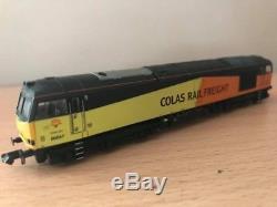 Graham Farish Colas Class 60 Renumbered To 60047 N Gauge
