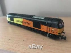 Graham Farish Colas Class 60 Renumbered To 60095 N Gauge