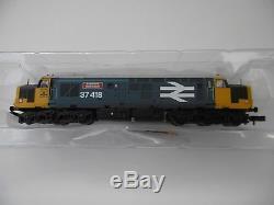 Graham Farish DCC 370-048 Class 37 37418 BR Blue large Logo N Gauge