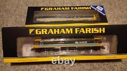 Graham Farish / Dapol N gauge full Scotrail set Mk3's and DBSO with Class 47
