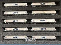 Graham Farish GBRf 100 ton Bogie hopper wagons x10