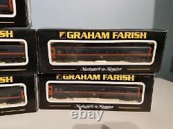 Graham Farish GNER Class 91 +Mk4 DVT 371-801 DC Split chassis Plus 5 Coaches