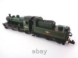 Graham Farish Locomotive N Gauge 372-625 Ivatt 2MT 2-6-0 BR 46521 Late Crest DCC