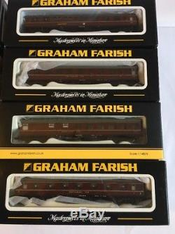 Graham Farish Mk1 Coaches Job Lot of 20 Coaches BR Maroon 374-012