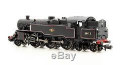 Graham Farish N 372-536 Standard Class 4mt Br Black L/c 2-6-4 Loco 80119 New