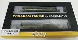 Graham Farish N Gauge 2 Car Dmu Class 108 Br Green DCC Ready Very Good Condition