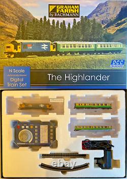 Graham Farish N Gauge 370-048'the Highlander' Digital Train Set Rare