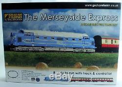 Graham Farish N Gauge 370-275 The Merseyside Express Deltic & 2x Coaches (u21)