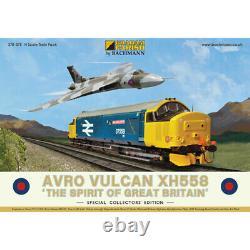 Graham Farish N Gauge 370-375 Avro Vulcan XH558 Collectors Pack