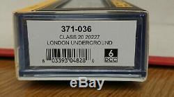 Graham Farish N Gauge 371-036 Class 20 20227 London Underground 6DCC NEW