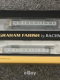 Graham Farish N Gauge 371-511 Class 101 Three Car Dmu Br Blue And Grey Boxed
