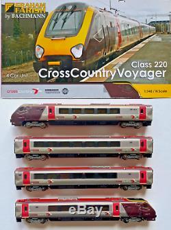 Graham Farish N Gauge 371-678 Class 220 Arriva Cross Country 4 Car Dmu Unit