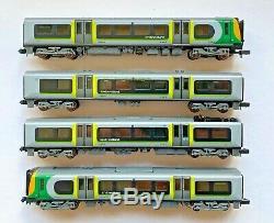 Graham Farish N Gauge 371-702 Class 350 Desiro 4 Car Emu'london Midland