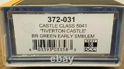 Graham Farish N Gauge 372-031 Castle Class Tiverton Castle BR Green Er 18DCC NEW