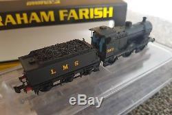 Graham Farish N Gauge 372-061 DCC SOUND& LIGHTS Midland Class 4F 3851 LMS black