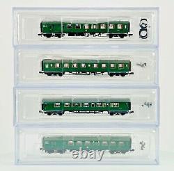 Graham Farish N Gauge 372-675 4cep Four Car Emu 7105 Sr Multiple Unit Green