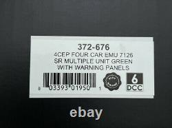 Graham Farish N Gauge 372-676 4cep Four Car Emu 7126 Sr Green Yellow Panels