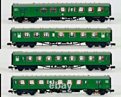 Graham Farish N Gauge 372-676 Class 411 4cep Emu 4 Car Sr Southern Green