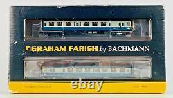 Graham Farish N Gauge 372-677 4cep Four Car Emu 7113 Br Blue & Grey Boxed