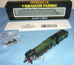 Graham Farish N Gauge Br Rebuilt Royal Scot Tender Loco 46106 Gordon Highlander