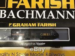 Graham Farish N Gauge CLASS 43 HST 125 GNER (6 Car set) 371-480