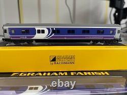 Graham Farish N Gauge Caledonian Mk3 Sleeper coaches (rake of 6)