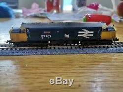 Graham Farish N Gauge Class 37 37407 DCC Sound Fitted TMC Weathered