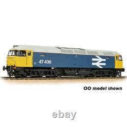 Graham Farish N Gauge Class 47/4 47436 BR Blue (Large Logo)