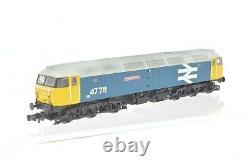 Graham Farish N Gauge Class 47 Diesel 47711 BR Large Logo DIGITAL SOUND