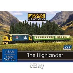 Graham Farish N Gauge DCC Highlander Starter Set
