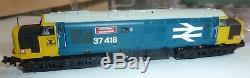 Graham Farish N Gauge Digital Locomotive Class 37 (37418) In Br Blue With Larg
